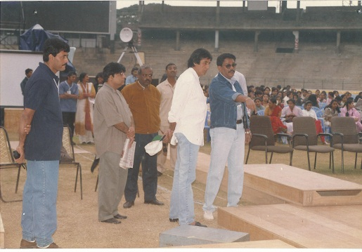 SAGOON WAGH ORGANISED MISS WORLD 1996 IN BANGALORE