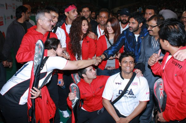 HOCKEY EVENT IN CHANDIGARH WITH TELEVISION ACTORS BOXY BOYZ
