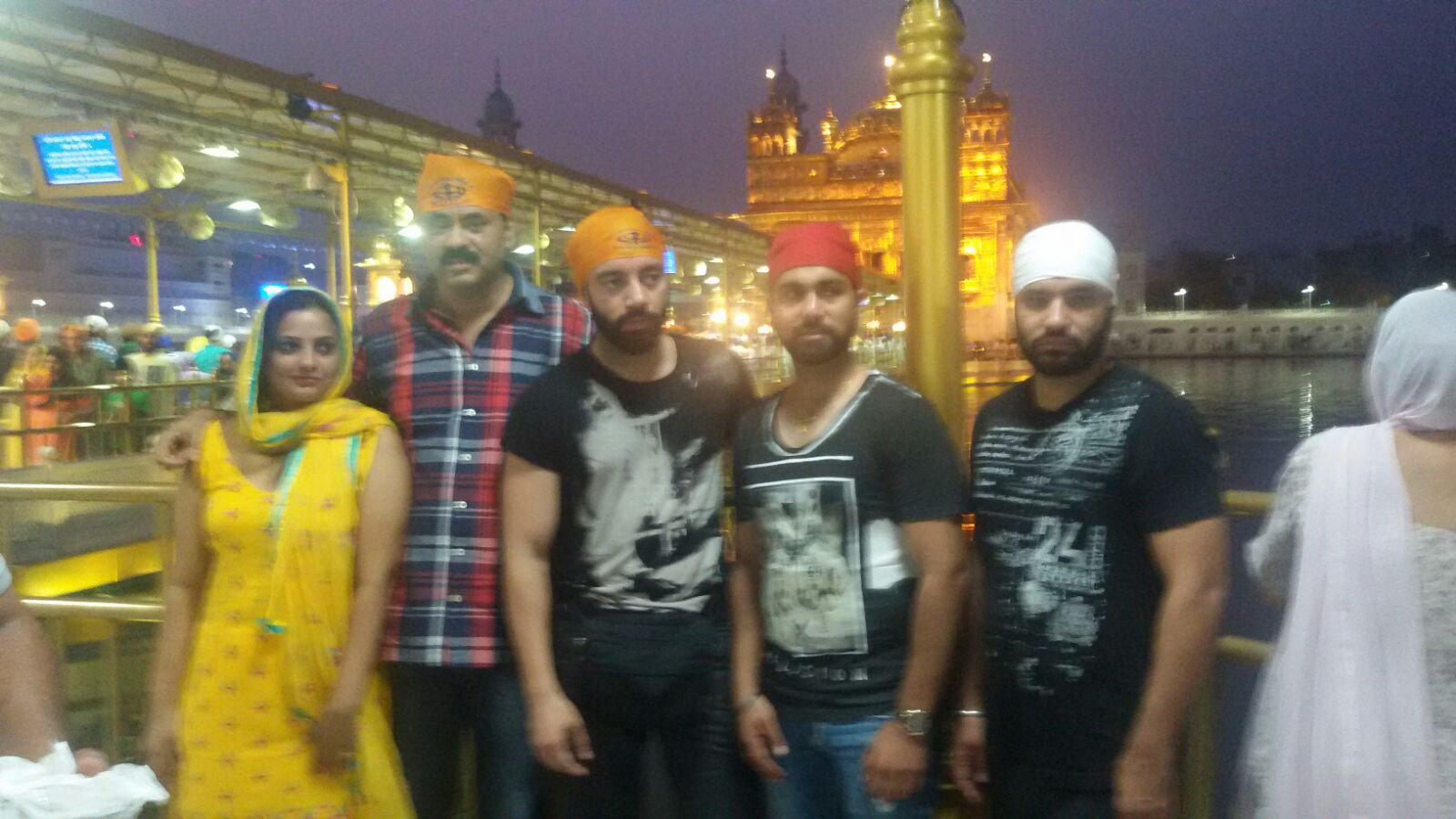 Punjabi Film TIGER 1st Day shoot