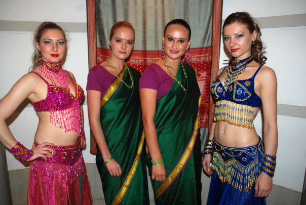 Dattar Masala Event with Foreign Hostess