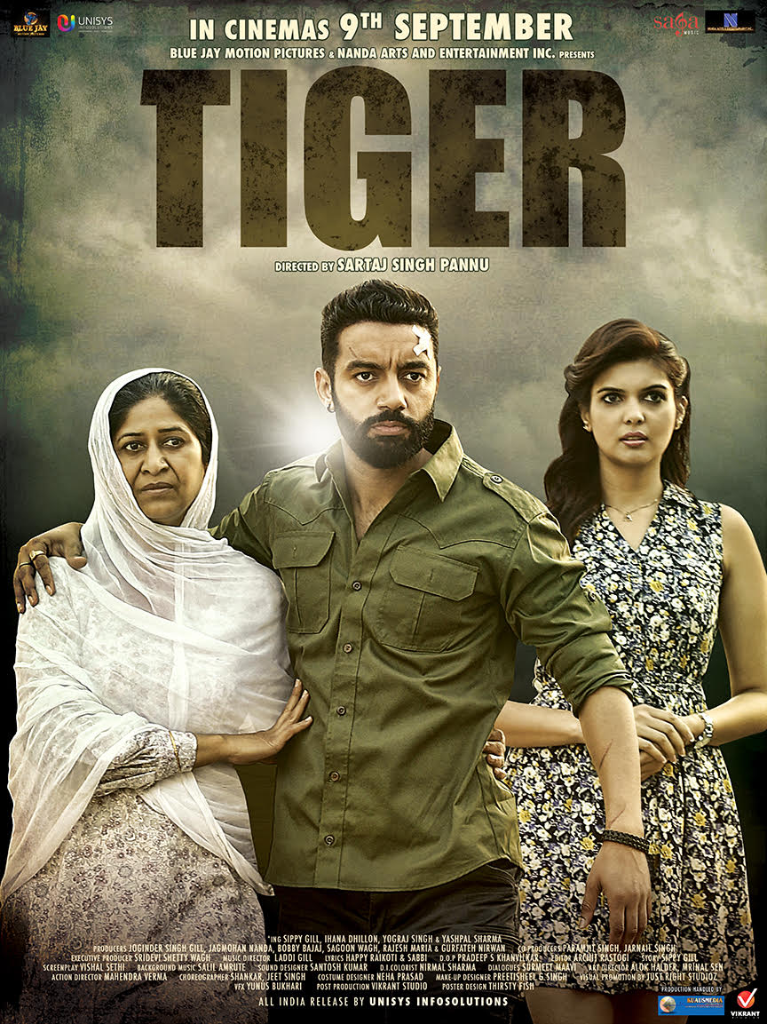 Produced Punjabi Feature Film TIGER